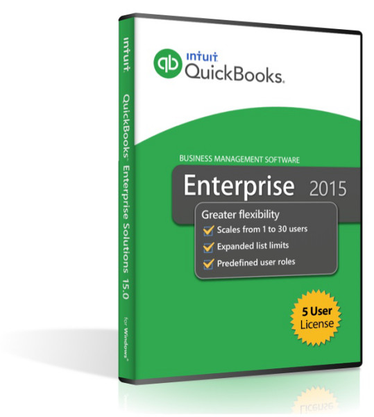 Quickbooks Enterprise 2015 - 5 User